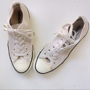 Converse Chuck Taylor White Low Top Sneakers